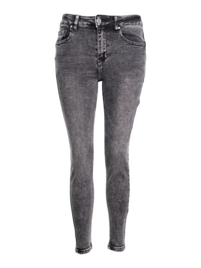 Jeans Slim met Hoge Taille