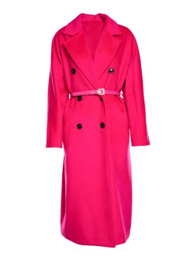 Mantel met riem