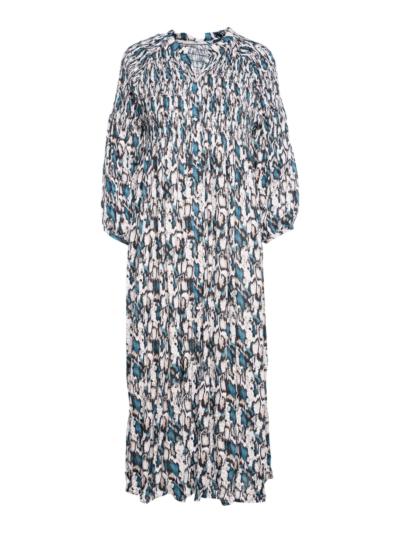 Lange jurk met print