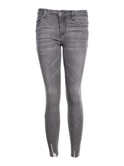 Jeans Hoge taille cutted