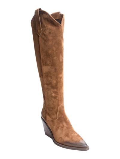 Hoge laars daim  Cowboy
