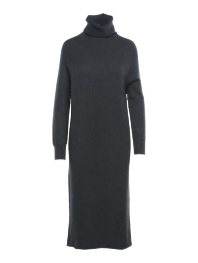 Long soft sweater dress