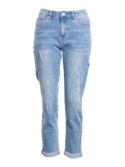 Jeans relax destroyed