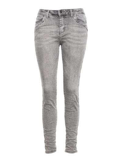 Jeans Slim Stikseldetail
