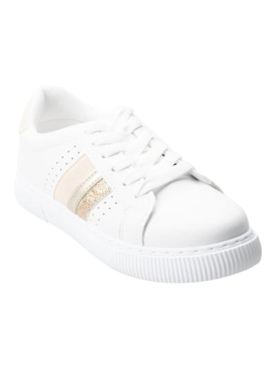 Sneaker with lurex detail