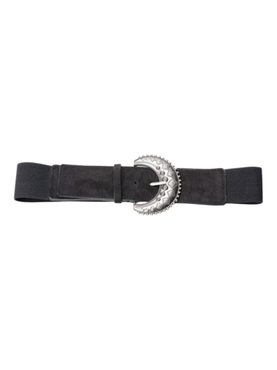Stretch belt with cool buckle
