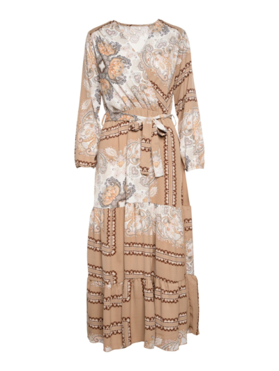 Lange jurk cashprint