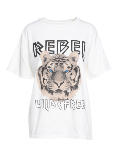 T-shirt Rebel Tiger