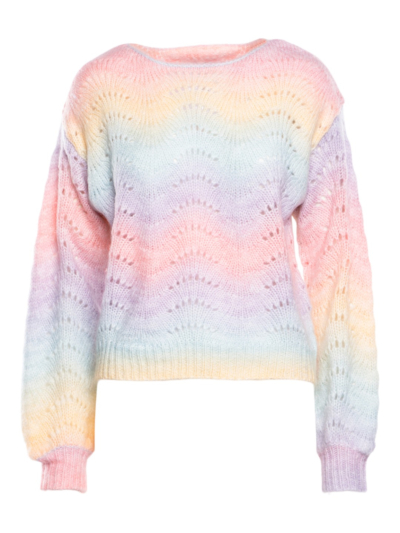 Sweater lurex detail Rainbow