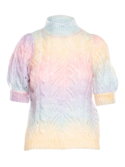 Sweater Rainbow knit