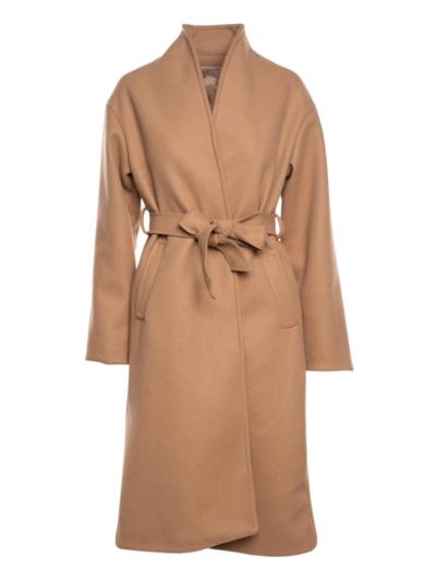 Mantel met striklint