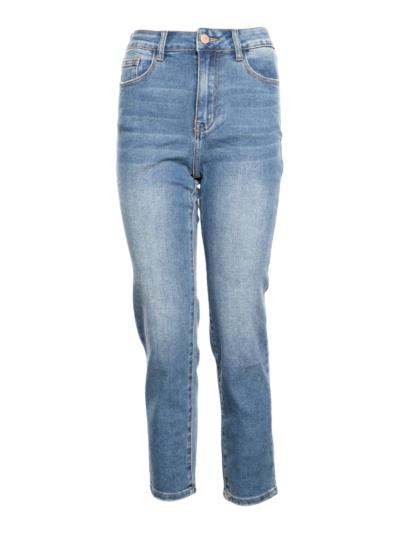 Mom jeans met stretch