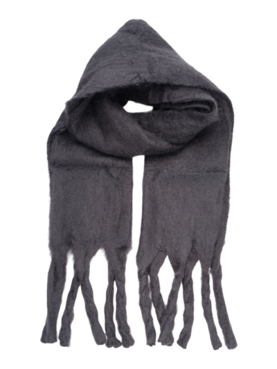 Sjaal ultrasoft met franjes