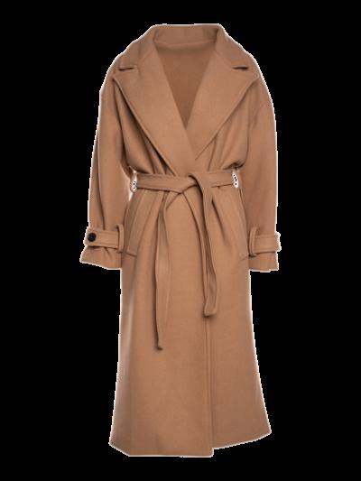 Mantel met mouwdetail