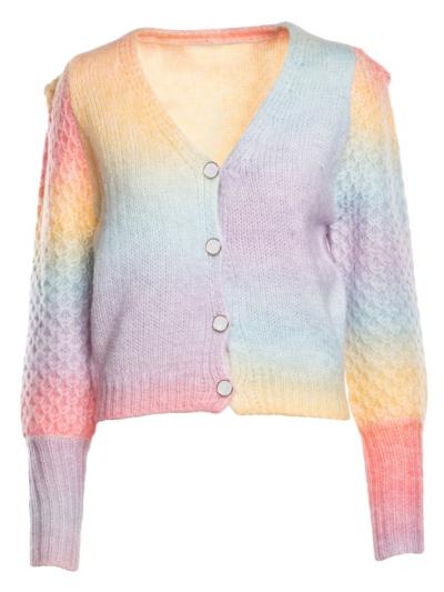 Waistcoat Rainbow Sleeve detail
