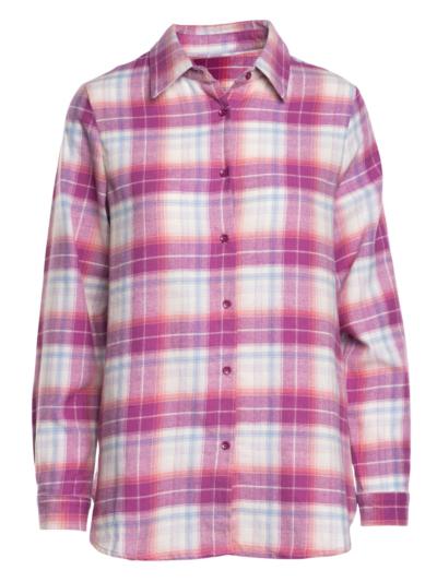 soft shirt with checks