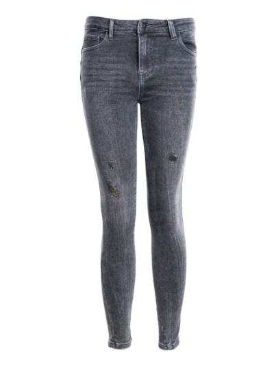 Push Up jeans destroyed slimfit