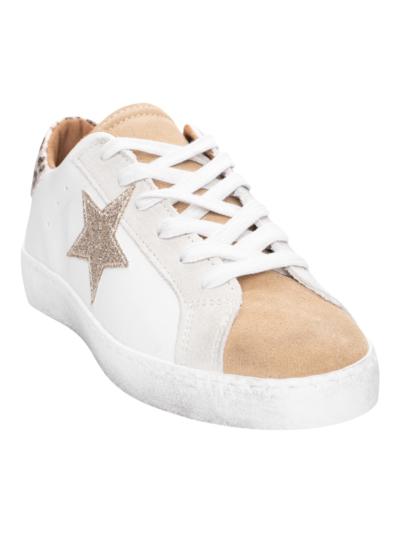 Lange sneaker met ster