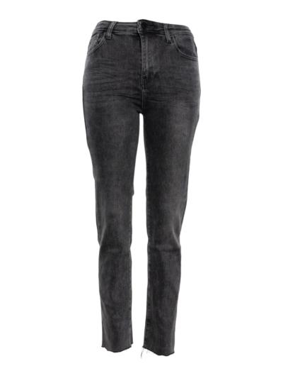 Jeans Straight rafels