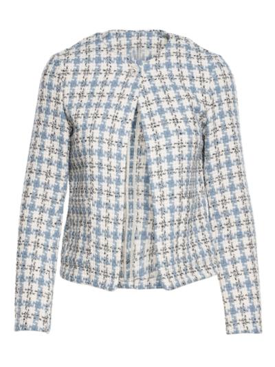 Tweed fabric jacket