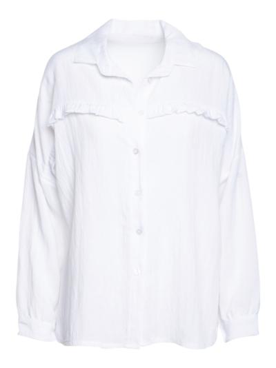 Hemd in linnenmix