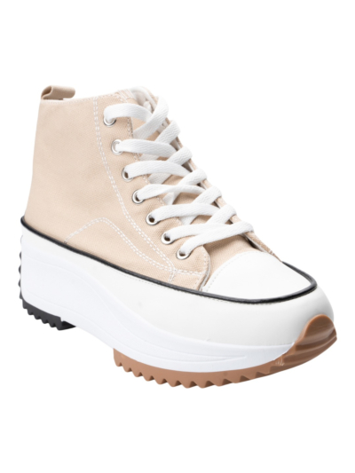 High Top Sneaker with thick sole
