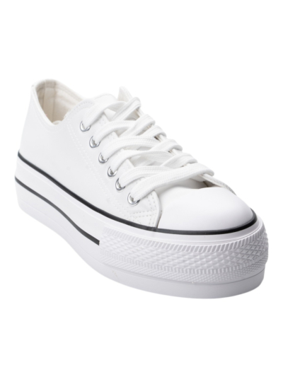 Leather Look Sneaker