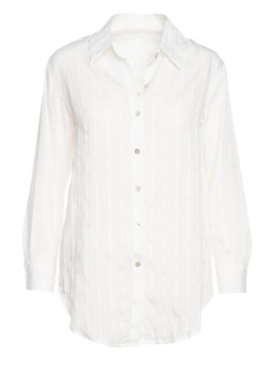 Zacht hemd met detail