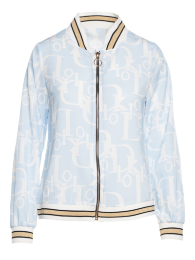 Bomber met It print
