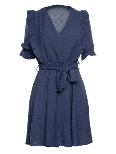 Korte jurk met dots