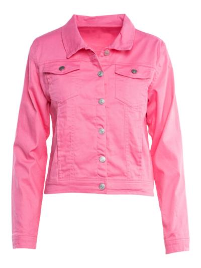 Gekleurde Jeansvest