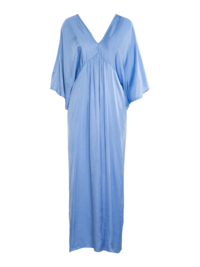 lange jurk satijn
