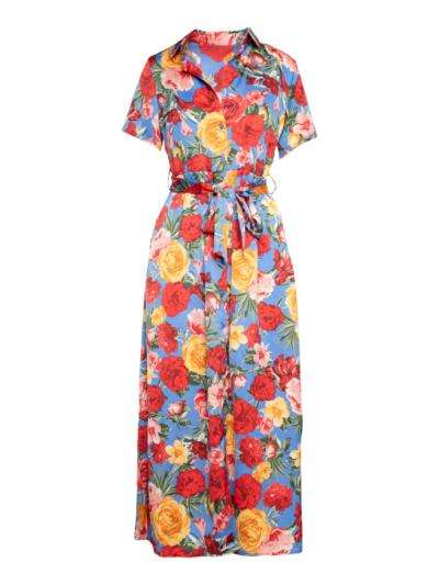 Lange jurk Dolce bloemen