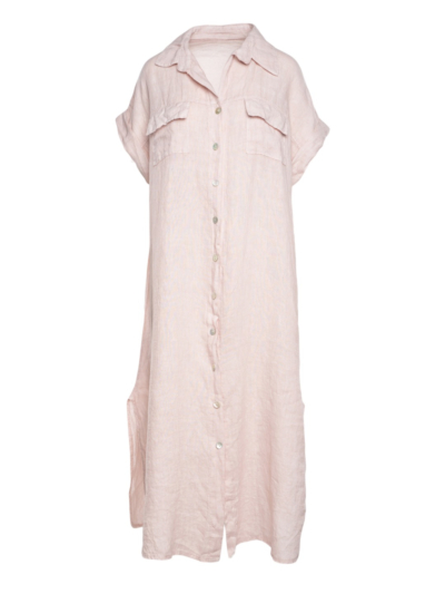 Lange jurk linnen