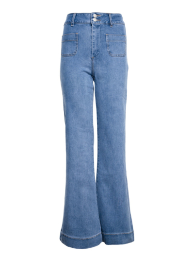 Jeans Hoge taille flaire