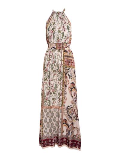 Lange jurk Boho