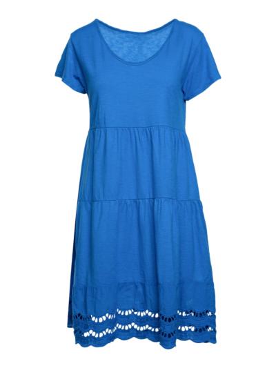 Korte jurk met detail