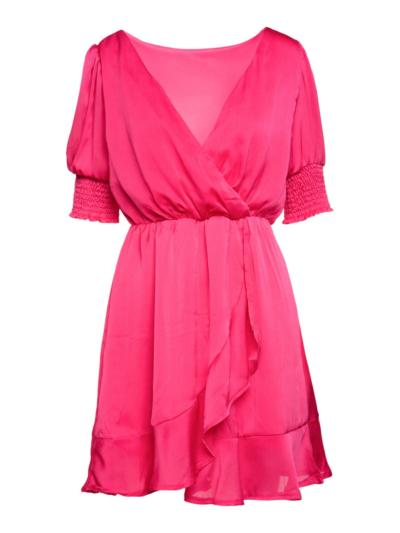 Korte jurk met mini dots