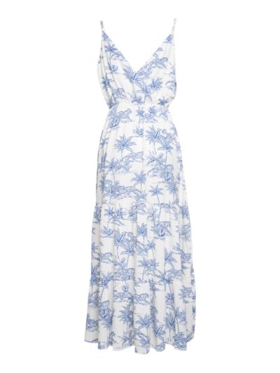 Lange jurk met tijgenprint