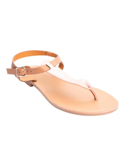 Griekse sandaal met detail