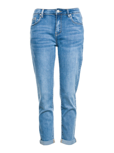 Relax jeans met Stretch