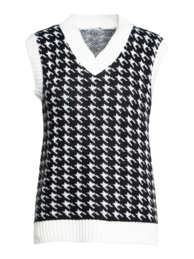 Houndstooth tank top