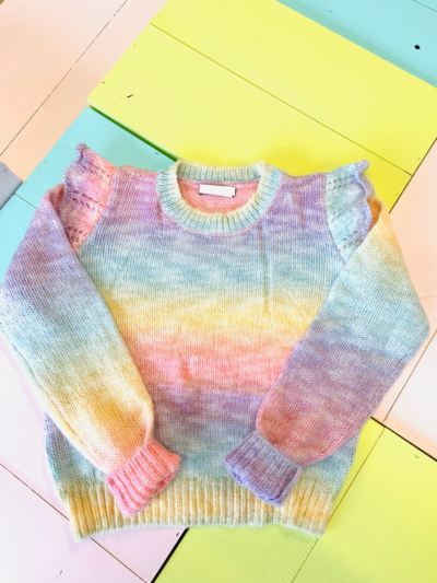 Sweater Rainbow Frou