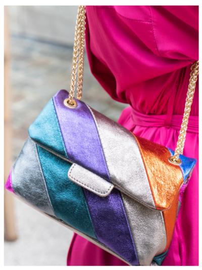 Handtas multicolor