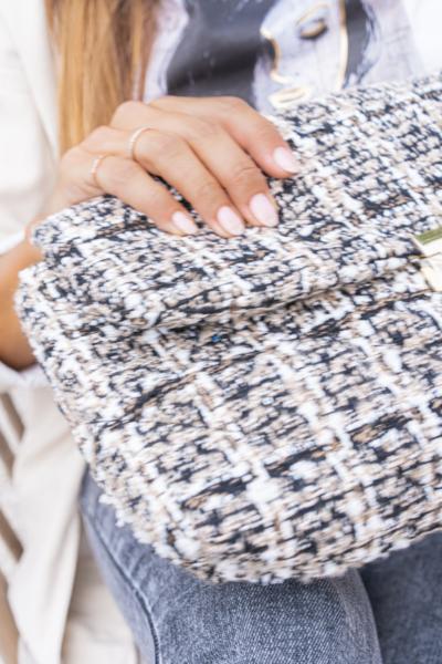 Handtas tweedstof