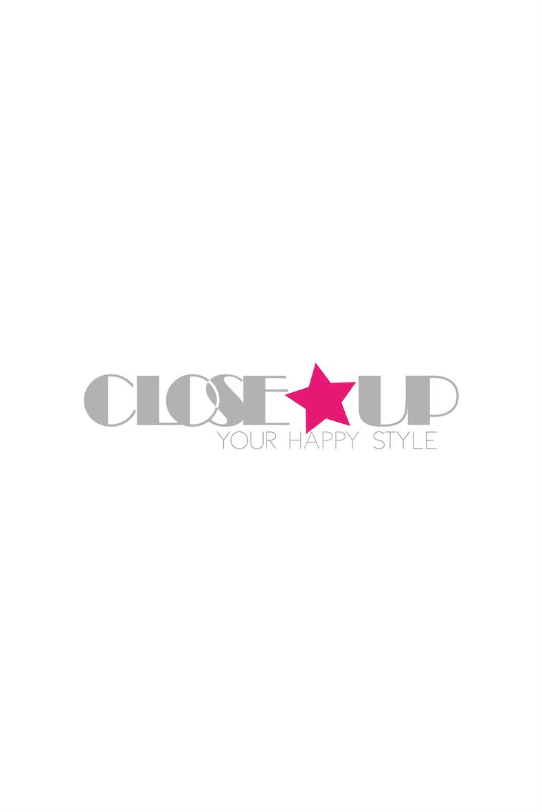 Lange zijde jurk met bloemen